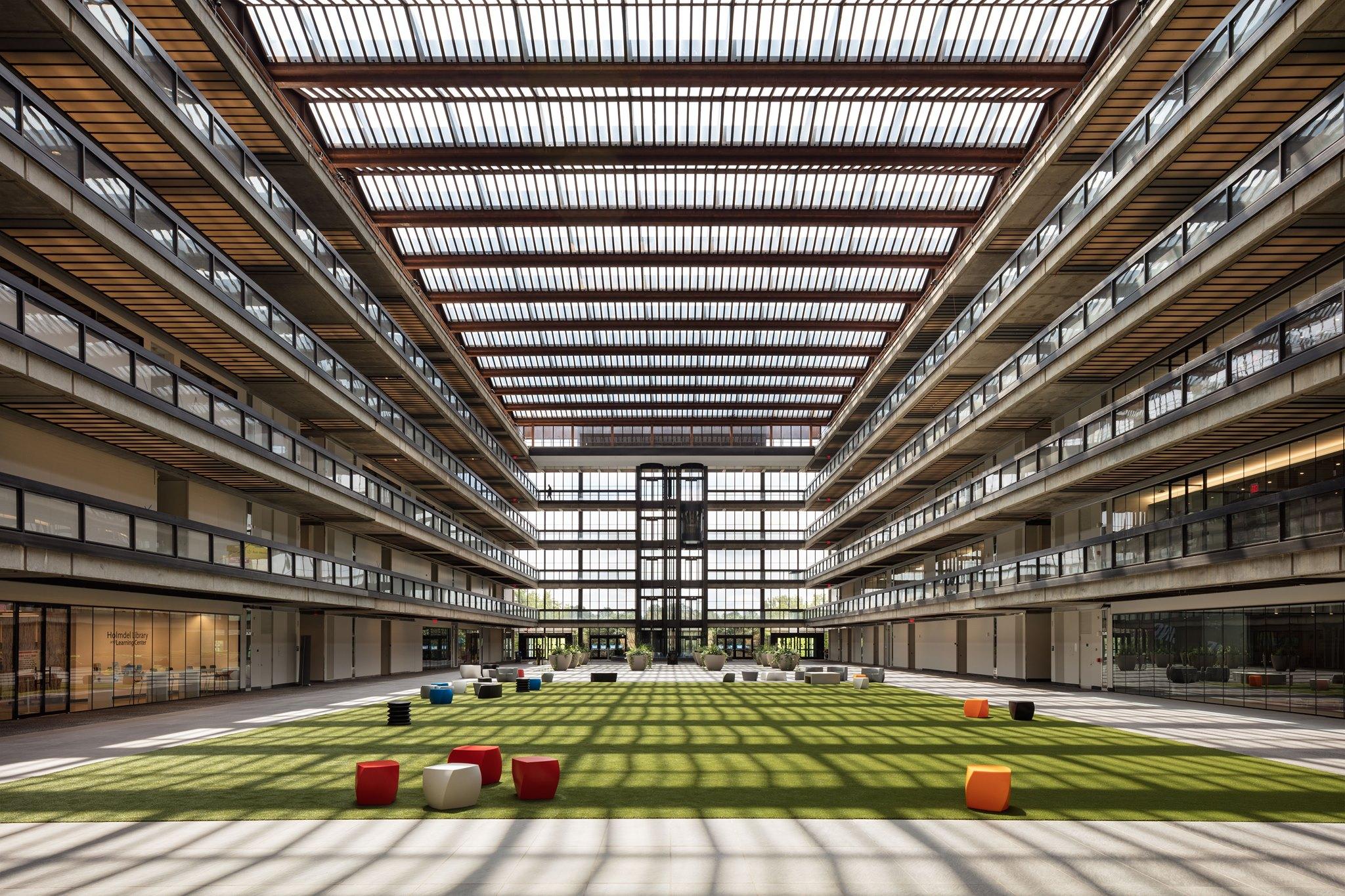 Bell Works Inside Building