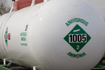 EES ammonia tank